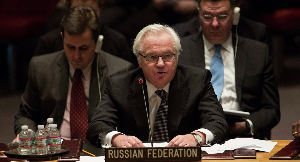 Russia's Permanent Representative to the United Nations Vitaly Churkin said during the UN Security Council meeting that All conflicting sides in Ukraine should refrain from provocative and thoughtless actions.
