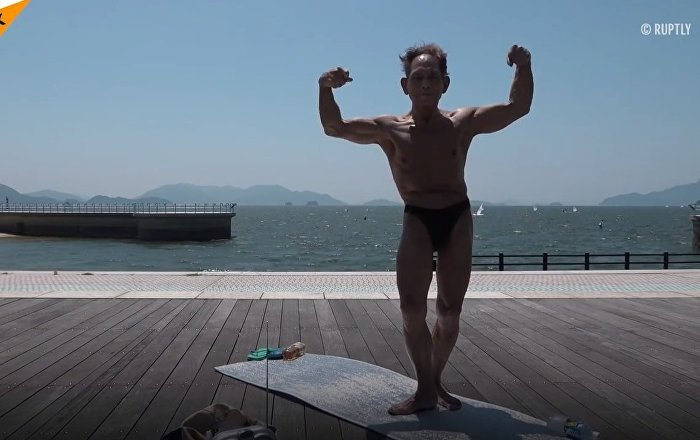 Meet 82 Years Old Bodybuilder
