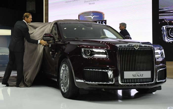 Luxury and Style: 2018 Moscow International Auto Show